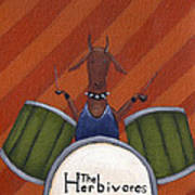 The Herbivores Print by Christy Beckwith