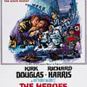 The Heroes Of Telemark, Us Poster Art Art Print