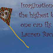 The Highest Kite Art Print