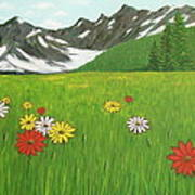 The Hills Are Alive With The Sound Of Music Art Print