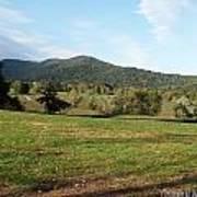 The Hills Near Marriot Ranch Art Print