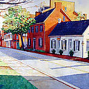 The Historic District Art Print