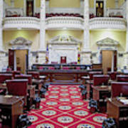 The Historic House Chamber Of Maryland Art Print