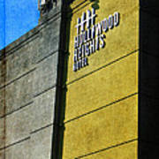 The Hollywood Heights Hotel Art Print