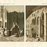 The Holy Sepulcher Of Jerusalem Art Print by Splendid Art Prints