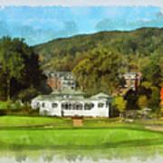 The Homestead Country Club Art Print