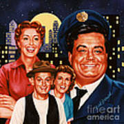 The Honeymooners Art Print