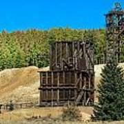 The Hoosier Mine Art Print