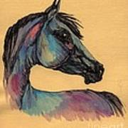 The Horse Portrait 1 Art Print