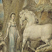 The Horse Art Print by William Blake