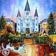 The Hours On Jackson Square Art Print