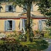 The House At Rueil Art Print
