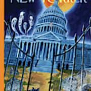 The House Republicans Haunt The Captiol Building Art Print