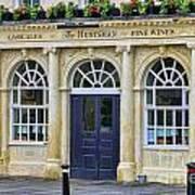 The Huntsman Pub In Bath 8456 Art Print