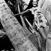 The Hurricane, Dorothy Lamour, 1937 Art Print