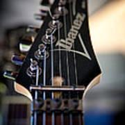 The Ibanez Guitar Art Print by David Patterson