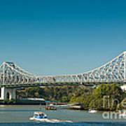 The Icon Of Brisbane - Story Bridge Art Print