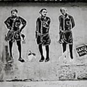 Homage To Banksy Art Print