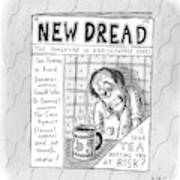 The Image Is The Front Cover Of New Dread: Art Print