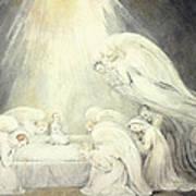 The Infant Jesus Saying His Prayers Art Print