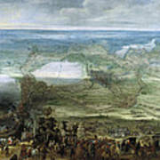 The Infanta Isabella Clara Eugenia At The Siege Of Breda Of 1624 Art Print
