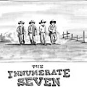 The Innumerate Seven Art Print