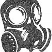 The Intricacies Of A Gas Mask Art Print