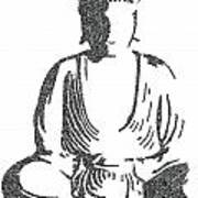 The Intricacies Of The Meditating Buddha Art Print