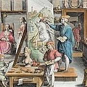 The Invention Of Oil Paint, Plate 15 Art Print