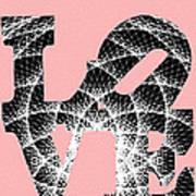 The Invisible Lines That Hold Love Together Art Print