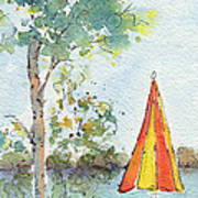 The Invitation Art Print by Pat Katz