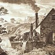 The Iron Forge Between Dolgelli Art Print