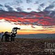 The Iron Horse Early Dawn The Iron Horse Collection Art Art Print