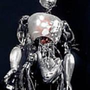 The Iron Robot Art Print
