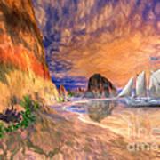 The Island Of Hope  Art Print