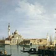 The Island Of San Giorgio Maggiore Art Print