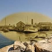 The Islander At Sakonnet Point In Little Compton Rhode Island Art Print