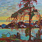 The Jack Pine After Tom Thomson Art Print