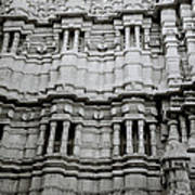The Jain Temple Art Print