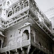 The Jaisalmer City Palace Art Print