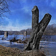 The James River One Art Print