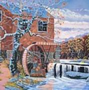 The Jamestown Mill Art Print