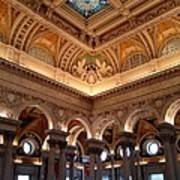 The Jefferson Building Library Of Congress Art Print