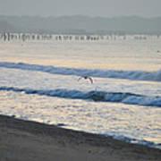 The Jersey Surf Art Print
