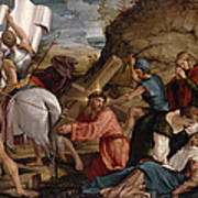 The Journey To Calvary, C.1540 Art Print