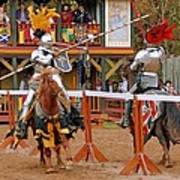 The Jousters 3 Art Print