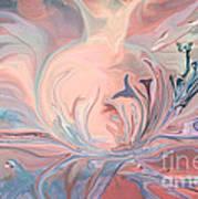 Healing Through Art Art Print