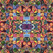 The Joy Of Design Mandala Series Puzzle 2 Arrangement 9 Art Print