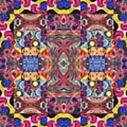 The Joy Of Design Mandala Series Puzzle 3 Arrangement 1 Art Print