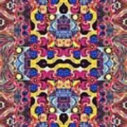 The Joy Of Design Mandala Series Puzzle 3 Arrangement 4 Art Print